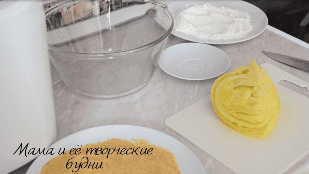 Ингредиенты для приготовления шницеля из капусты