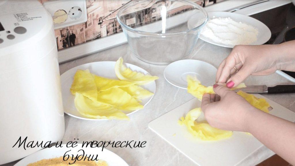 Готовим шницель из капусты