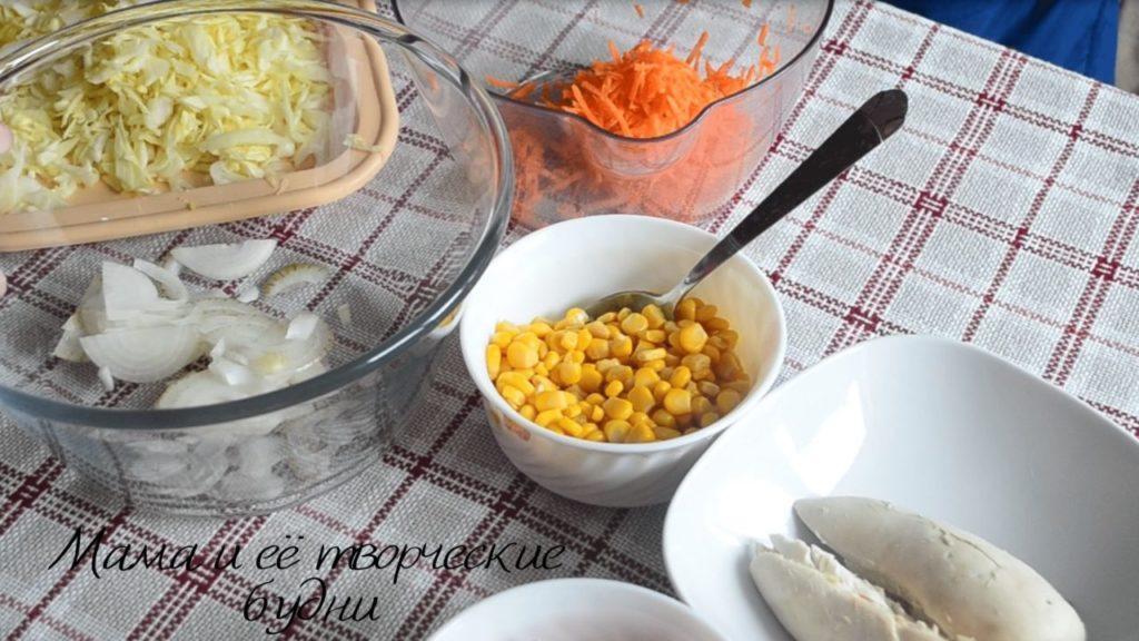 Кукуруза на салат