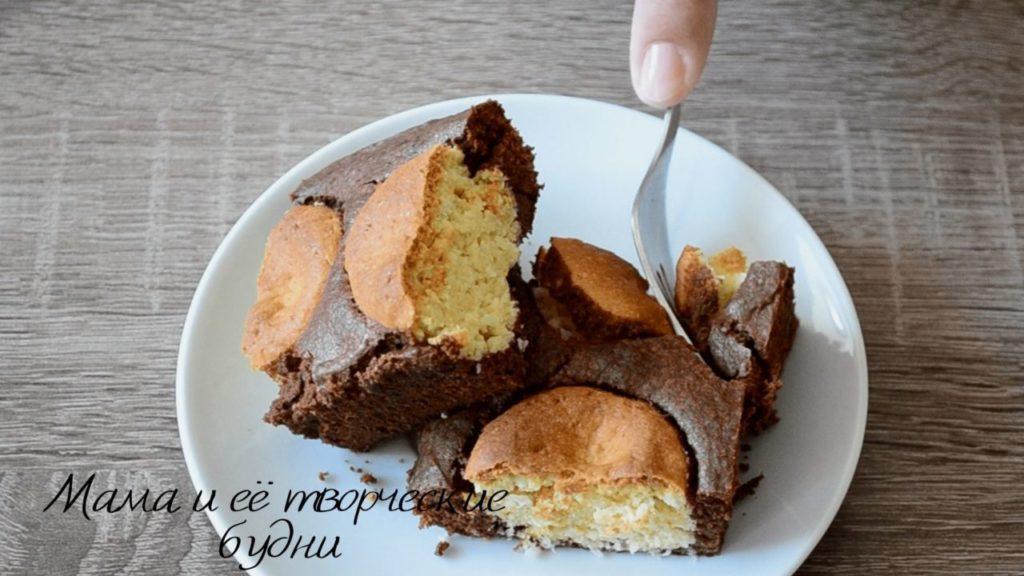 Песочное печенье в шоколадном тесте